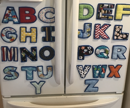 Magnetic Refrigerator Alphabet Complete Letters A thru Z