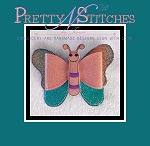 3 sizes of Butterfly Bow Embroidery Designs, stitch area is 5X7 and 6X10