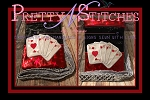 Poker Vertical Zipper Bag Embroidery Design 4X5.6, 5X7, 6X8.5, 7X11 and 8X11.5,  lined and non lined