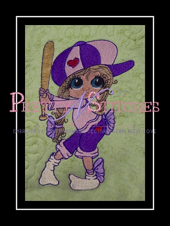 Never Let Fear Filled Embroidery Design  approximate sizes included 1.5X2.25, 4X4, X5X7, 6X8